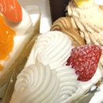 口の中で溶ける生クリームと軽くて甘いスポンジのケーキ