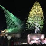 世界一のクリスマスツリーを神戸メリケンで見てきました